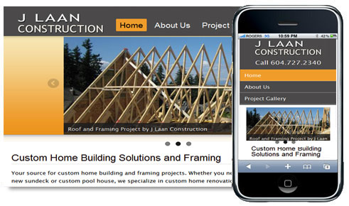 Mobile-friendly Drupal 7 Theme for Construction Business