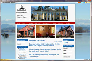 Community Website with Online Business Directory